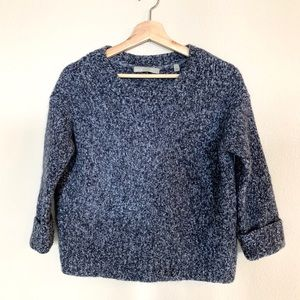 Vince Wool & Cashmere Blue Sweater